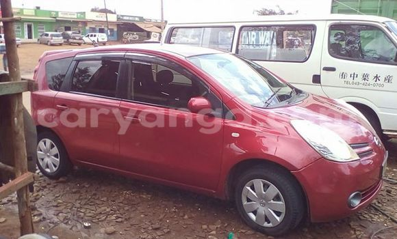 Buy Nissan Note Red Car in Limbe in Malawi