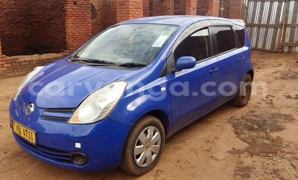 Buy Nissan Note Blue Car in Lilongwe in Malawi