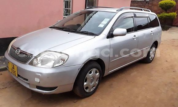 Buy Toyota Fielder Silver Car in Limete in Malawi