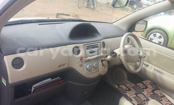 Buy Toyota Sienta White Car in Kasungu in Malawi